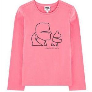 Karl Lagerfeld Girl's Shirt
